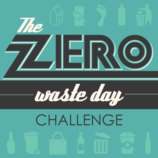 Logo for Zero Waste Day Challenge